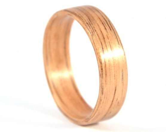 Australian black wood ring - right side
